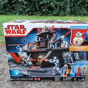 Star Wars Force Link BB-8 2-in-1 Mega Playset for Sale in Gresham, OR