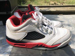 "Air Jordan 5 Retro Low ""Fire Red"" (Size 10.5) Released 2016 for Sale in Tucker, GA"