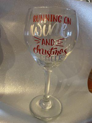 Custom Wine Glass for Sale in Park Rapids, MN