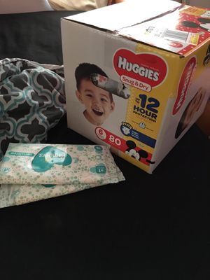 Size 6 Huggies for Sale in Tampa, FL