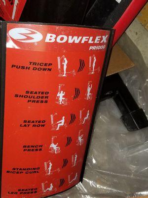 Bowflex pr1000 for Sale in CARPENTERSVLE, IL