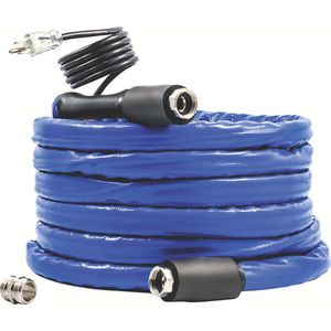 Camco tastePURE 25' headed drinking water hose, Freeze protection Down to -20F,blue for Sale in Rialto, CA
