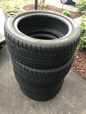 Like NEW Dunlop winter tires 225/50R17 $250 or best offer for Sale in Fairfax, VA