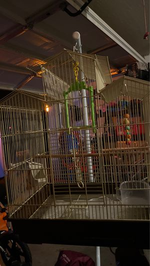 Bird cage with stand for Sale in Maricopa, AZ