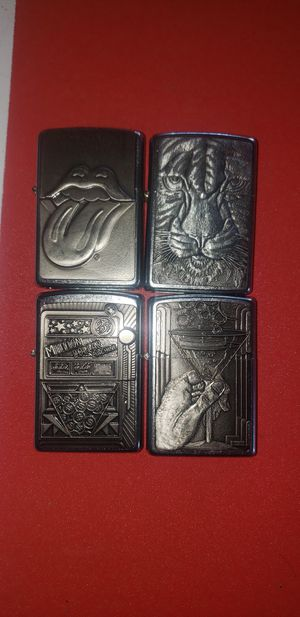 Zippos lighters collection some rare with seals... different prices. for Sale in Oakley, CA