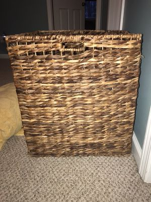 Weaved storage basket for Sale in Suttons Bay, MI