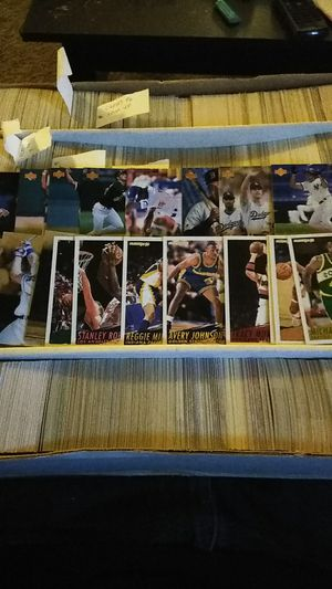 Cards and lots of em baseball/basketball/football and maybe more for Sale in Murfreesboro, TN