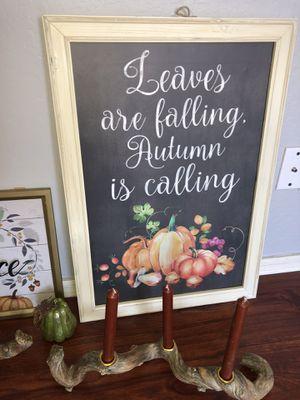 Fall decor for Sale in Surprise, AZ