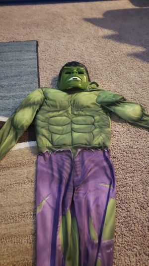 Kids hulk costume for Sale in Sacramento, CA