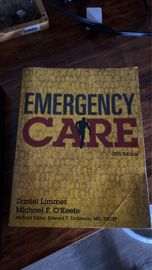 Emergency care 13th edition for Sale in Hayward, CA