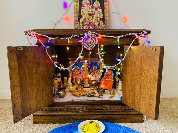 Pooja mandir/Pooja temple