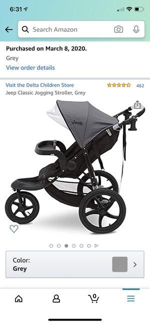 Jeep jogging stroller for Sale in Mission, KS