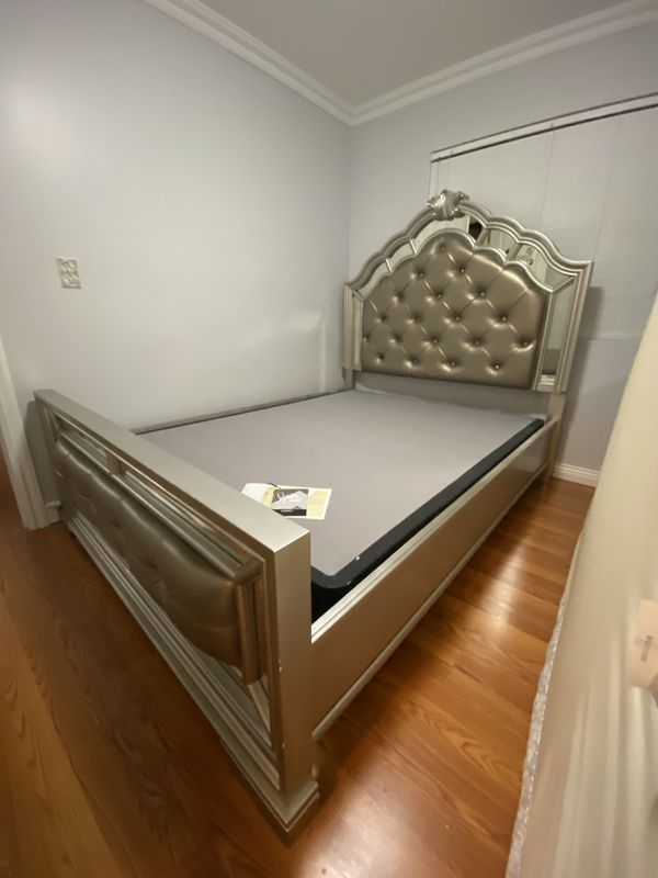 Queen Sized Bed + Dresser