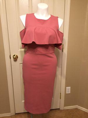 NY&C 💗open shoulders dress size 8 💗RUNS LIKE 12 for Sale in Maricopa, AZ