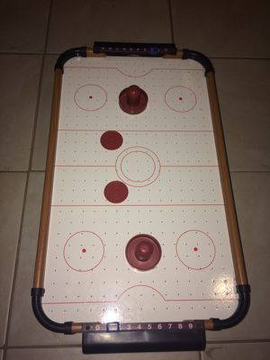 Mini tabletop air hockey table for Sale in Melrose Park, IL