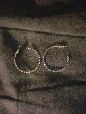 Vintage hoop earrings for Sale in Huntington Beach, CA