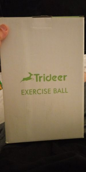 Trideer exercise ball for Sale in Saint Paul, MN