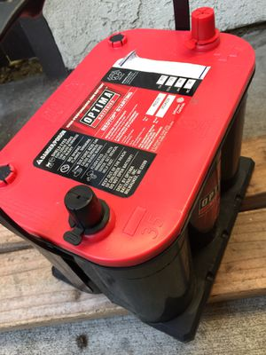 """Optima Battery REDTOP- high-performance/ RED35"""" for Sale in West Covina, CA"""