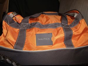 "Awesome 25""x15"" Nautica Wheeled Dockside Duffle Bag for Sale in Tacoma, WA"