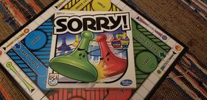 Sorry! Board Game for Sale in Harrington, DE