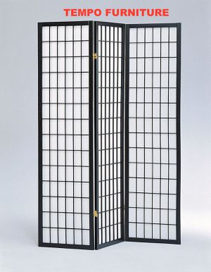 3 Panel Room Divider, Black, #7034BK for Sale in Santa Fe Springs, CA