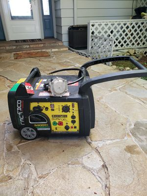 Champion Dual-Fuel 3400 Watt Generator RV ready! for Sale in Kingston, WA