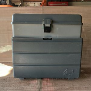 Plano Tackle Box With Two Trays for Sale in Ontario, CA