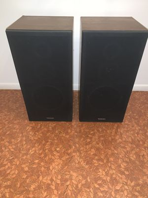 Vintage Set Of Technics SB-K23 3 Way Speaker System As Is Untested for Sale in Morrisville, PA