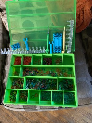 Rainbow Loom Set with storage box for Sale in Spring Valley, CA