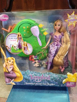 Disney's Tangled braiding friends hair braider for Sale in Philadelphia, PA