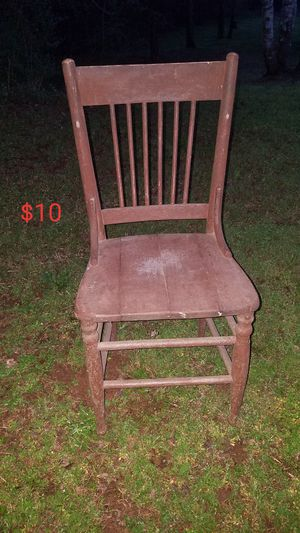 Antique wood chair for Sale in Townville, SC