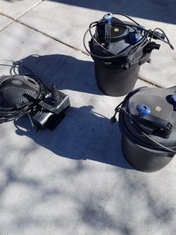 Pond Filter And Pumps for Sale in Las Vegas,  NV