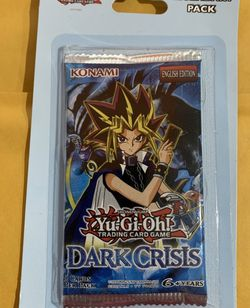 Yu-Gi-Oh! Dark Crisis Blister Booster Pack! DCR (NEW) for Sale in Los Angeles,  CA