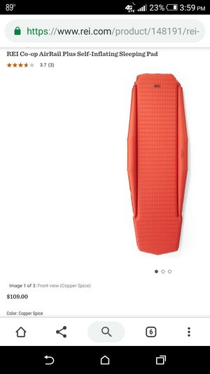 Brand New REI Self Inflating Air Mattress Pad Compact for Sale in Denver, CO