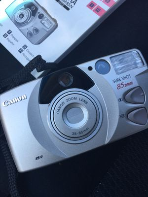Canon sure shot 85 zoom...35 mm for Sale in Durham, NC