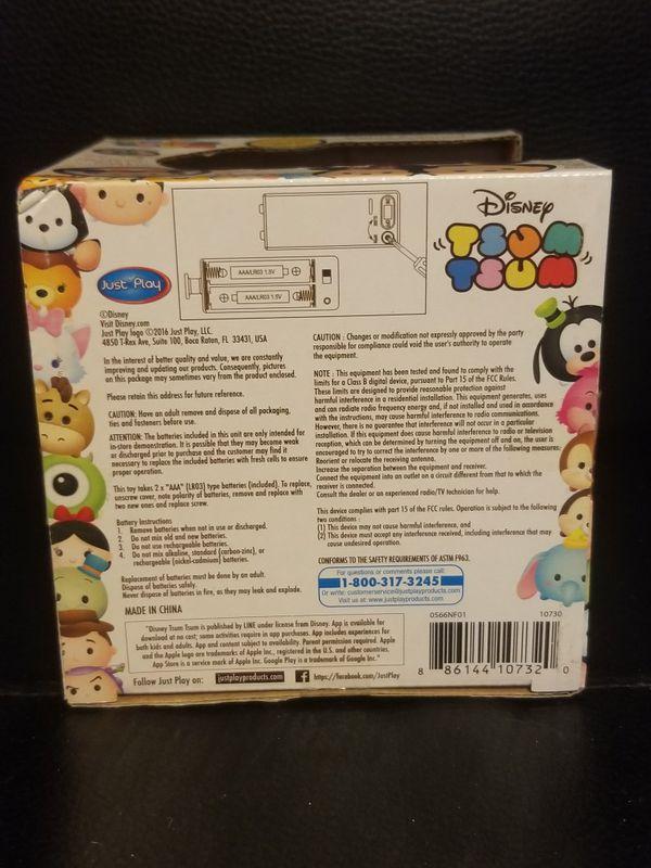 Brand NEW- Disney Tsum Tsum light up Minnie Mouse
