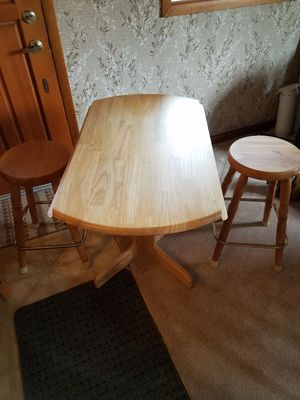 """Nice 40"""" table 2 chairs for Sale in Anaconda, MT"""
