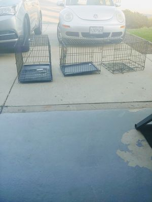 Dog kennels. X three. Individual price., one at 60.00. Two for 50.00 for Sale in San Jose, CA