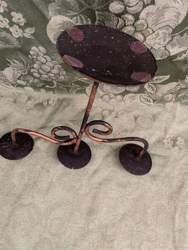 Candelabra. Wrought iron candelabra. Still available