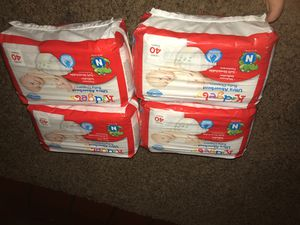 Newborn kidgets diapers for Sale in Columbus, OH
