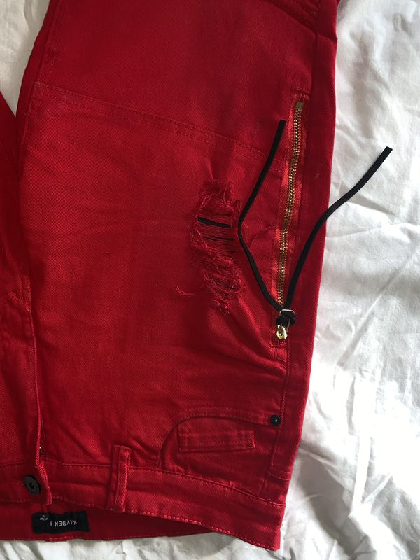 Red Men's Jeans 32x32