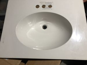 "New 25"" bathroom vanity top only for Sale in San Francisco, CA"