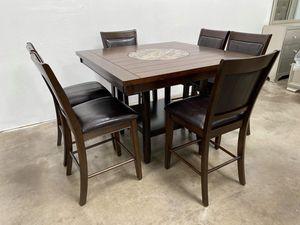 Counter height kitchen table set floor model for Sale in Phoenix, AZ