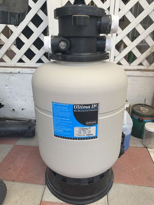 Koi pond filter and 55watt uv light for Sale in Anaheim, CA