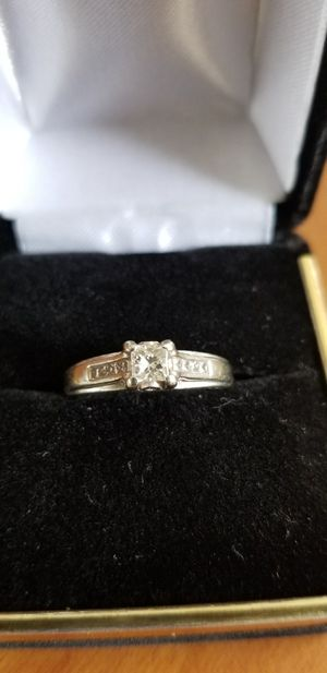 1/2 carret white gold Diamond,size7, for Sale in Sanger, CA