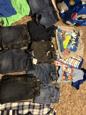 Babyboy 12 month shirts,pants,and shorts for Sale in Fountain, CO