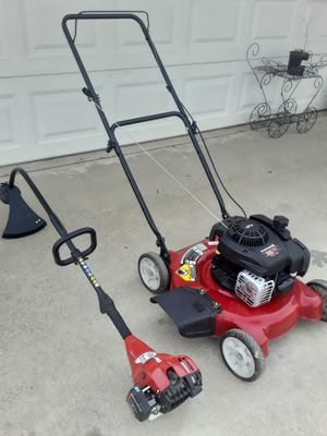Gas weed eater and lawn mower for Sale in Perris, CA