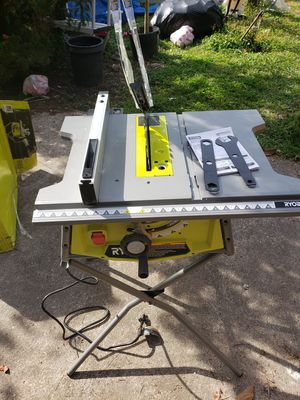 Ryobi table saw with stand 10inch for Sale in Houston, TX