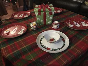Christmas Tableware Decorations Bundle for Sale in Frederick, MD