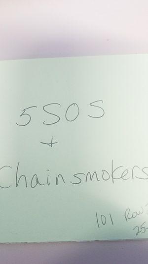 5 SOS and Chainsmokers Tickets for Sale in Tonawanda, NY